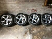 Bmw Genuine alloy wheels with tyres