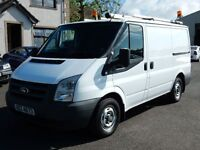 2009 ford transit swb with only 45000 miles 1 owner from new, full history, motd until july 2016