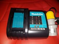 Makita DC18SD 7.2-18V Lithium Ion Battery Charger 2019 replaces of DC18RA 110v brand new