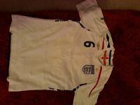 England football shirt 2007 - 2009 number 6 Terry