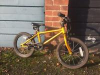 "Raleigh 16"" suitable for 3.5-5 year olds."