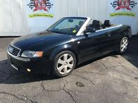 2006 Audi A4 1.8T, Automatic, Leather, Heated Seats, Convertibl