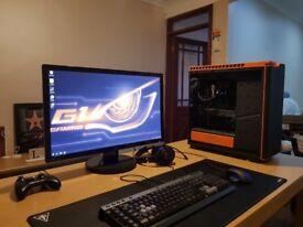 GTX 1080 (8Gb DDR5) , i7 6700k 4.2Ghz , Liquid Cooled - FULL SETUP - WORTH £2200+ ( gaming pc 2 )