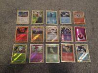 Spare Holos & Reverse Holo Pokemon Cards