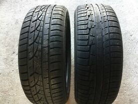 Winter tyres x2. Hardly used! £50 each!