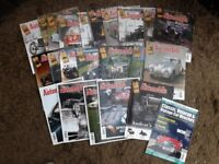 SPACE NEEDED 41 copies THE AUTOMOBILE vintage & classic car magazines from 2011-2015 NO DUPLICATES!