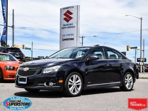 2014 Chevrolet Cruze 2LT ~Backup Cam ~Heated Leather ~Power Moon