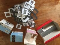 Assorted Slide Mounts and Filing Pages.