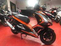 LEXMOTO MONZA 125 EFI - 2018 ONLY 300 miles on the clock!! Legal learner
