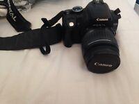 Cannon SLR camera.
