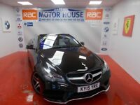 Mercedes E220 BLUETEC AMG LINE(FREE MOT'S AS LONG AS YOU OWN THE CAR!!!) (black) 2015