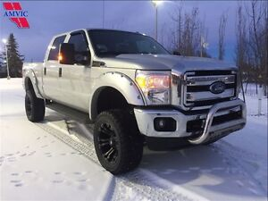 2015 Ford F-250 Leather Lifted 4x4 40,500Km