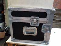 Large DJ Music flight case for vinyl / mixer / Audio visual equipment