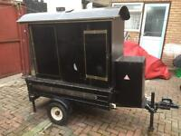 Jacket Potato trailer (with gas cylinder)