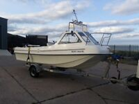 Fishing boat Seahog Commodore 18'