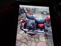 yamaha virago 1063 cc 1994 colour red lovely condition