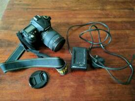 Nikon D90 with lens and charger