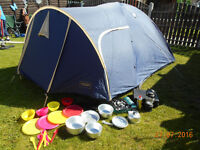 footpath outdoor persuits 3 - 4 person tent & extras