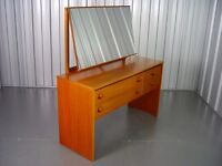 Retro Wooden Stag Dressing Table Vintage Furniture X