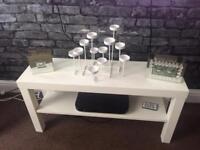 Ikea Slim white table