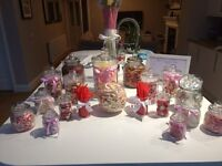 Wedding Pick & Mix Glass Steetie Jars