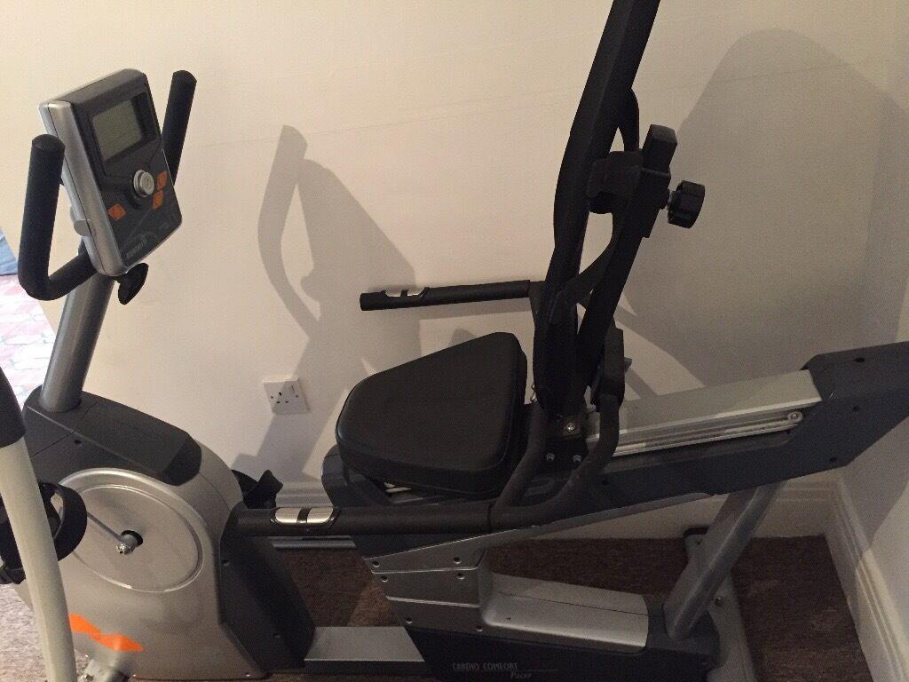 Verwonderlijk Bremshey Recumbent Cardio Pacer Exercise Bike | in Wembley ZM-67