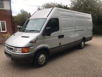 IVECO DAILY 2.8 LWB 2002 , ONLY 80600 MILES, SAME OWNER FOR 15 YEARS.VGC
