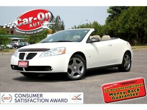 2007 Pontiac G6 GT HARDTOP CONVERTIBLE LEATHER HTD SEATS ALLOYS