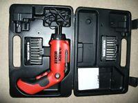 Tool Set/ Black & Decker Screwdriver