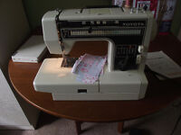 TOYOTA SEWING MACHINE.