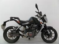 KTM Duke 125 Grey 2012 Cat c