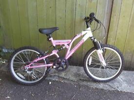 Brand new child's bike