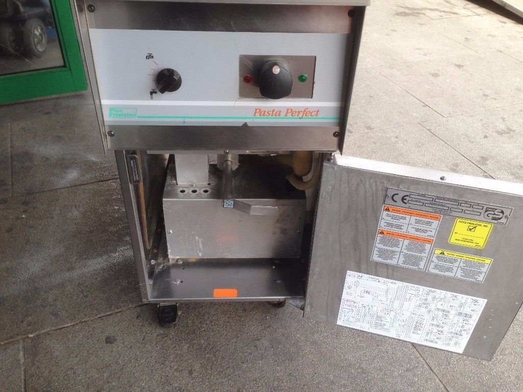 CATERING COMMERCIAL PASTA BOILER MACHINE CUISINE TAKE AWAY FAST FOOD RESTAURANT BAR SHOP CHICKEN BBQ