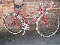 Raleigh Clubman with Reynolds 531 tubing, Mixte Road Bike
