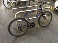 Mountain bike for sale (+ locker)