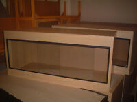 brand new 3ft vivarium in lisa oak