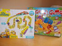Minions Dominoes & Kangaroo Games