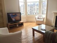 Double room for rent in Sunny Comely Bank Flat
