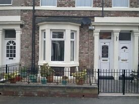 Superb Two Double-Bed Ground Floor Flat, 5-min walk from Gateshead Metro