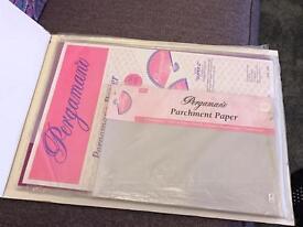Pergamano parchment paper