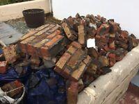 Free unbagged bricks/rubble
