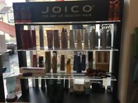 Joico retail display stand
