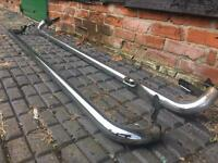 VW Caddy side bars