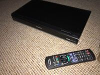 Panasonic DMR-HW100 Freeview HD recorder with twin view HD freeview