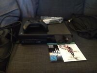 Xbox One 500GB Console, excellent condition with extra controller