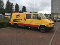 VW T14 ex AA recovery truck with Towing Dolly