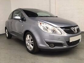 2007 VAUXHALL CORSA 1.2 DESIGN 3dr *** FULL YEARS MOT ***