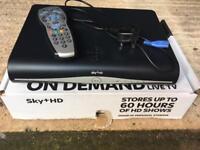 Sky + HD boxes