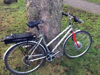 Electric Bike -perfect for commuting to work. 370 pounds , price negociable