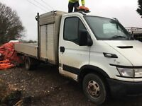 Iveco daily 3.0 6 speed flatbed . The best van I ever owned